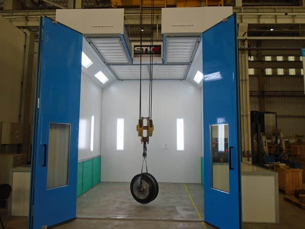 cabine de pintura industrial thyssenkrupp 2