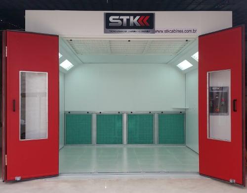 STK Pratik Cabine de Pintura Automotiva