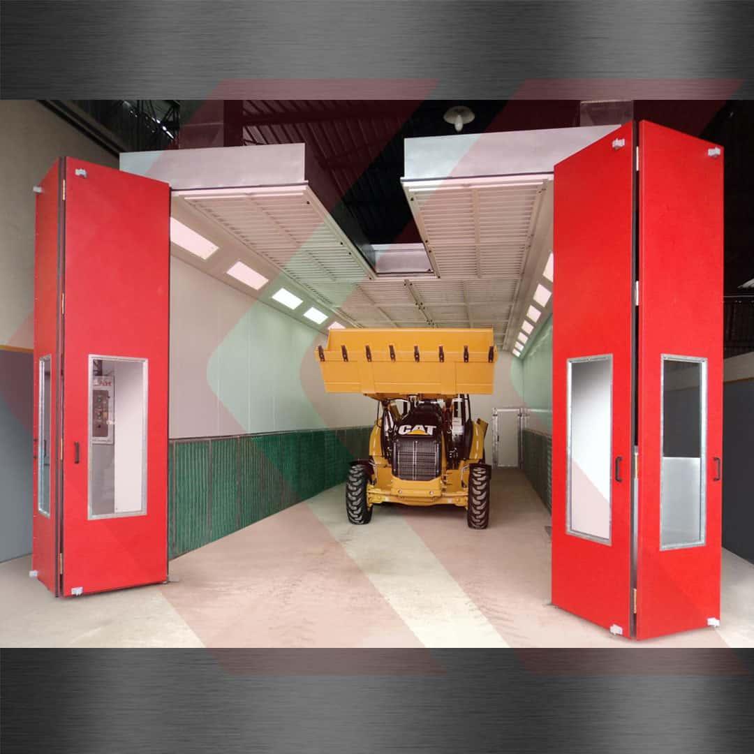 cabine de pintura para veículos pesados cargo max