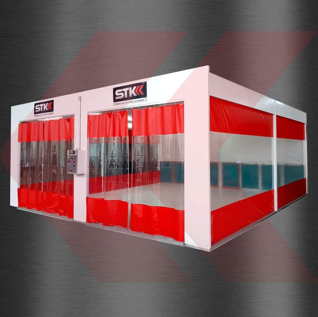 box para micropintura automotiva
