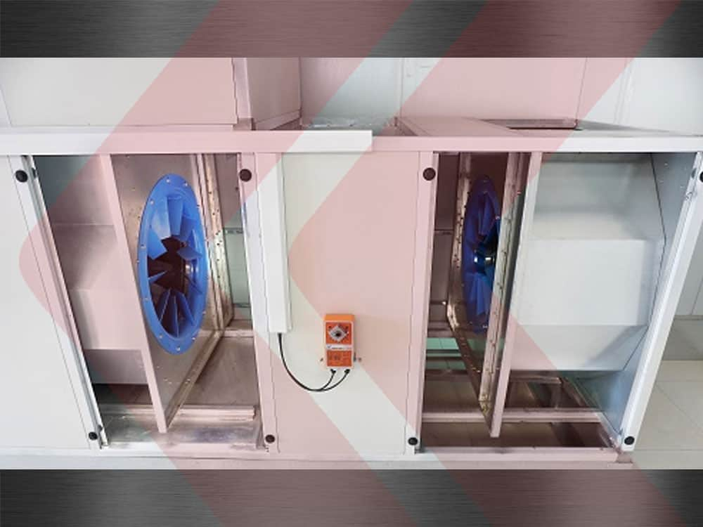 ventiladores limit load da cabine de pintura